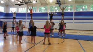 Football and Cheerleading Camps